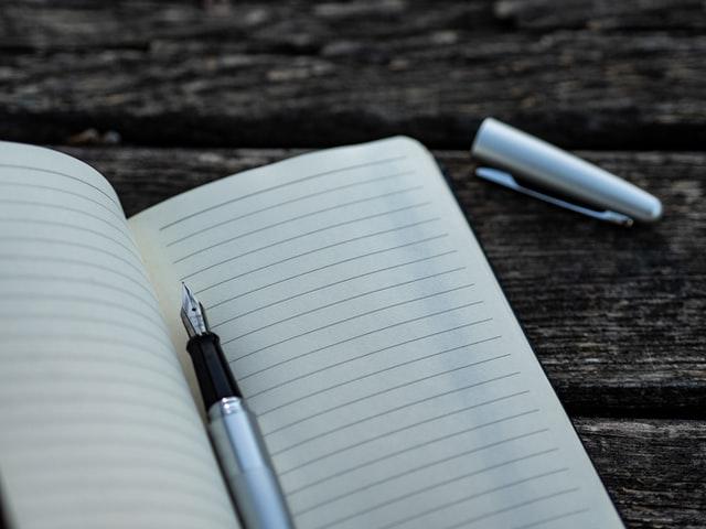 Mooie agenda's en notitieboeken gebruiken